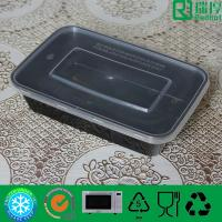 Quality Food Industrial Use and Recyclable Feature High Quality Disposable Plastic Food Container With Lid 500ml for sale