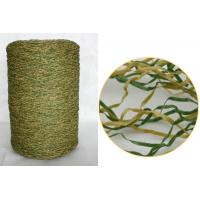 Wholesale Red / Green Artificial Grass Yarn / Monofilament Polypropylene Curl Synthetic Grass from china suppliers