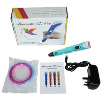 Quality Custom made Multifunction 3D Printer Pen  , 3d draw pen as gift for kids for sale
