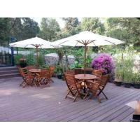 China Ideal decking flooring material for outdoors with high resistance to wear and tear in environments exposed to water on sale
