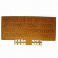 Wholesale Flexible PCB, with Thickness of 0.5mm, Min Hole of 0.2mm, Min Pitch of 0.15mm from china suppliers