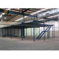 Buy cheap 2-Layer Max 6000mm Upright Industrial Mezzanine Floors , Mezzanine Construction from wholesalers