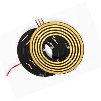 Wholesale Small Thickness Flat Pancake Slip Ring Low Contact Pressure For Robots Control System from china suppliers