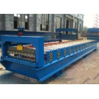 China Steel Roll Shutter Door Forming Machine , Door Frame Roll Forming Machine  on sale