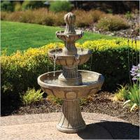 Wholesale Natural White Marble Garden Stone 3 tiers Water Fountain from china suppliers