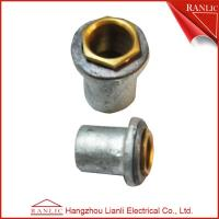 Wholesale Flange Coupler Conduit Junction Box With Lead Washer & Brass Male Bush , Malleable Iron from china suppliers