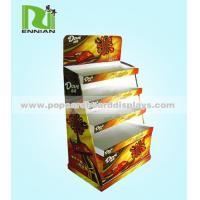 Wholesale Retail cardboard display shelf / Snack portable display stand assemble from china suppliers