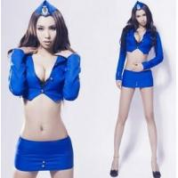 Wholesale Halloween costumes holloween party costume Blue lace sexy dress costumes from china suppliers