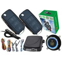 Quality Keyless Ignition Kit Smart Car Alarm System Passwords Keyless Entry And Push Button Start for sale