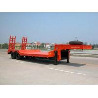 Wholesale 50t 70t 100t brand new china  low-bed Semi-trailer from china suppliers