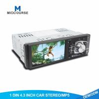 Wholesale High Definition Single Din Car Video Player Build In RearView Camera USB FM Bluetooth from china suppliers