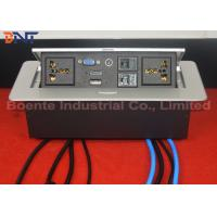 Wholesale Customized Made Office Desktop Hidden Pop Up Power Sockets CAT6 / HDMI from china suppliers