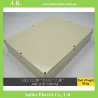 Wholesale waterproof junction box housing 340*270*60mm plastic case for distribution box from china suppliers