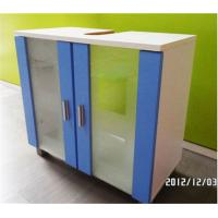 Wholesale Hotel Waterproof Modern Bathroom Sink Furniture Cabinet With Tempered Glass from china suppliers