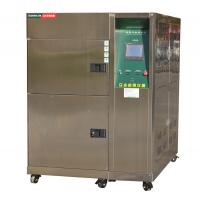 Quality Stainless Steel 300 L 3 Zone Thermal Shock Test Chamber With Cable Port for sale