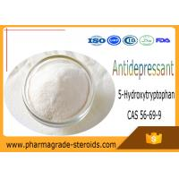Wholesale CAS 56-69-9 Pharmaceutical Raw Materials 5-Hydroxytryptophan 5-HTP for Antidepressant from china suppliers