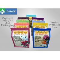 China Re - Closeable Plastic Pouch Packaging Rainbow Colors Organic Fertilizer Use on sale