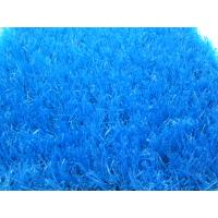 Wholesale Outdoor Blue Artificial Grass Carpet Garden Lawn 20mm Yarn Count 9800Dtex from china suppliers