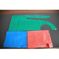 Wholesale Polythene Disposable Medical Aprons , Throw Away Aprons For Hygiene Nursing from china suppliers
