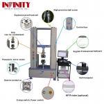 100Kn 200Kn 300Kn Rebar Metal Plastic Textile Tape Universal Tensile Testing Machine