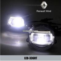 Wholesale Renault Wind car front fog lamp assembly daytime running lights LED DRL from china suppliers