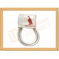 Wholesale 7-13 CM Non Invasive Blood Pressure Cuff  For Veterinary Animals White from china suppliers