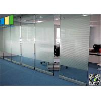 Wholesale Meeting Room Sliding Glass Partitions Walls from china suppliers
