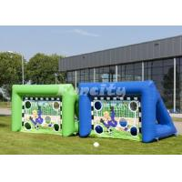 Wholesale 4mL*2mW*3mH Size Inflatable Football Goal For Sport Games With 2 Years Warranty from china suppliers