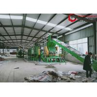 Wholesale Recycling Plastic Film Washing Line 300-1000KG/H PP PE Green Weight 20-30 Ton from china suppliers