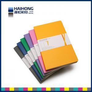 Wholesale Embossed Moleskine style Custom Notebook Printing / Hardback paper notebook from china suppliers