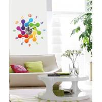Wholesale Modern Home Decoration Crystal Bones Wall Sticker Clock 10D012 from china suppliers