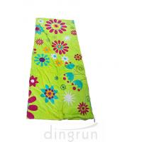 Wholesale Folded And Rolled Custom Printed Beach Towels Packed Into A Towel Bag With Rope Drawstring from china suppliers