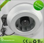 Gakvabused Sheet Steel Inline Circular Duct Fan Class F Low Noise