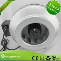 Quality Gakvabused Sheet Steel Inline Circular Duct Fan Class F Low Noise for sale