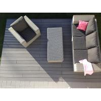 Quality Grey composite decking for private yard and garden for sale
