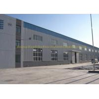 Wholesale Fire Proof Quick Build Prefabricated Steel Structure Warehouse Moisture Proof from china suppliers