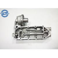 China Silver Color Excavator Engine Spare Parts 6D114 Oil Cooler Cover on sale