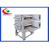 Wholesale Commercial Western Kitchen Equipment Gas 2 layers Conveyor Pizza Oven Pizza maker machine from china suppliers