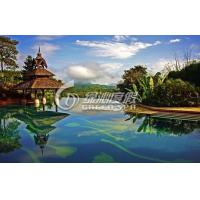 Wholesale Professional Garden Swimming Pools Design and Project for Holiday Resort from china suppliers