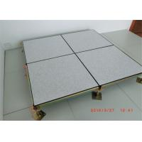 Wholesale All Steel Raised Access Flooring , Raised Floor Tiles For Satellite Ground Stations from china suppliers