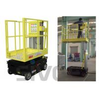 Wholesale 5m Working Height Self Driven / Motor Driven Aerial One Man Lift For Fixture Works from china suppliers