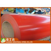 Wholesale Red Cold / Hot Rolled GI Steel Coil , PPGI Steel Sheet Roll Roofing Materials from china suppliers