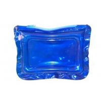 Wholesale Bule 0.30MM Clear PVC Bags With Zipper For Cosmetic Packaging from china suppliers