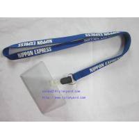 Wholesale Waterproof Type Clear Plastic Horizontal Name Tag Badge Id Card And Screen Lanyard from china suppliers
