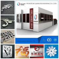 Quality IPG Carbon Steel / Stainless Steel Laser Cutting Machine with 45m/min Speed for sale