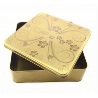 Wholesale Metal Tin Box Tin Metal Lunch Box Handle Metal Soap Tin Box Square Tin Box from china suppliers