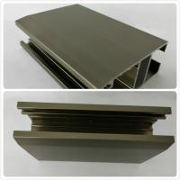 Wholesale Oxidizing Bronze Anodized Aluminum Profiles , Channel With Customized Shape from china suppliers