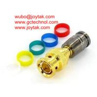 Wholesale BNC Coaxial Connector Compression Type 75ohm RG174 Coax Cable/BNC.MC75.174.06 from china suppliers
