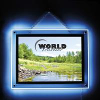 Wholesale Clear Wall Mounted Crystal LED Light Box Light Weight For Picture Display from china suppliers