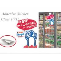 Wholesale Color Printed Custom Plastic Stickers Self Adhesive Labels For Glass Door / Window from china suppliers